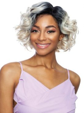 Mane Concept Red Carpet Swoop Bang Lace Front Wig - RCSB206 CANARY