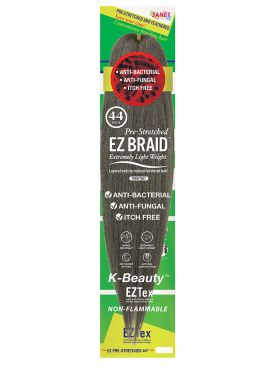 JANET COLLECTION EZ WEAR PRE-STRETCHED EZ TEX BRAID (44, 54 INCHES)
