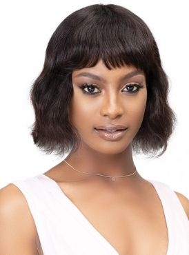 Janet Collection Brazilian 100% Natural Virgin Remy Human Hair Wig - AUBRI
