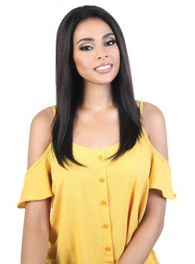 Beshe 7A+ Be Bundle Human Hair STRAIGHT Weave 3pc with 3x5 Lace Closure