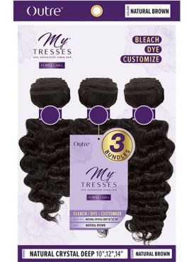 Outre MyTresses Purple Label NATURAL CRYSTAL DEEP Weave 3pc