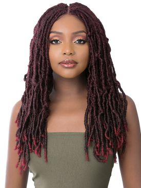 Its A Wig Premium Synthetic Lace Front Wig - ST DREAM LOCS 22