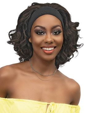 Janet Collection Premium Synthetic Crescent Band GIGI Wig