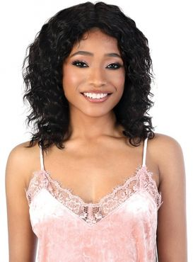 Motown Tress Persian Remy Human Hair Wet & Wavy HD Lace Front Wig - HPLFP.WET1