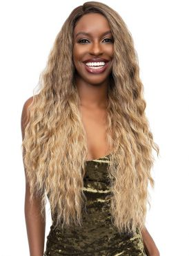 Janet Collection Essentials HD Lace Front Wig - JAVA