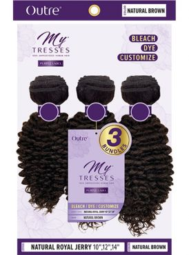Outre MyTresses Purple Label NATURAL ROYAL JERRY Weave 3pc