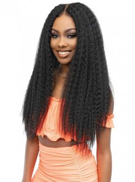 """Janet Collection Melt 13x6 Frontal Part Lace Wig  - KINKY 28"""""""