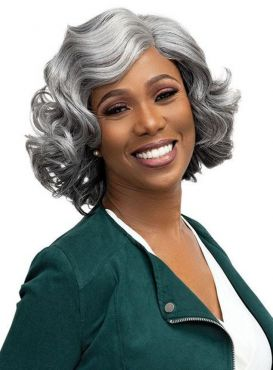 Femi Collection Ms.Granny Deep Part Adele Wig