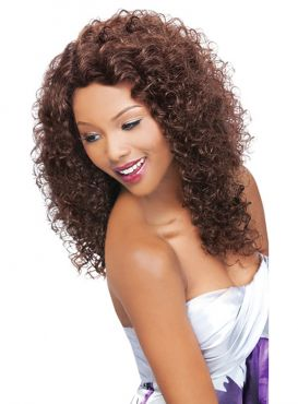 Outre Simply 100% Human Hair Unprocessed Brazilian Natural Lace Front Wig - NATURAL CURLY
