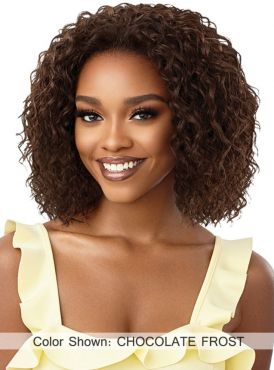 Outre Converti Cap Wet and Wavy Premium Synthetic Full Wig - WAVY OASIS