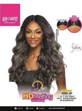 """Mane Concept Red Carpet 6"""" Deep Pre-Plucked Part HD Melting Lace Front Wig - RCHM204 EIRA"""