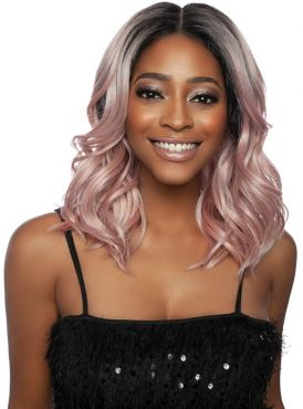 """Mane Concept Red Carpet 5"""" HD Secret Plucked Lace Front Wig - RCSP205 NILLA"""