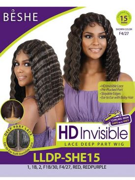 Beshe Heat Resistant Slayable Edges HD Invisible Lace Wig - LLDP SHE15