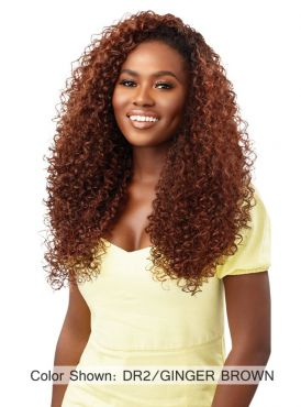 Outre Converti Cap Premium Synthetic SWIRL N' CURL Full Wig