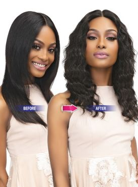Janet Collection Luscious Remy Indian Human Hair HD Lace Wig - TEYANA