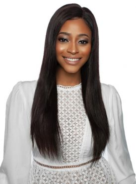 Mane Concept Trill 11A Human Hair HD Rotate Lace Part Wig - STRAIGHT 24 (TRMR214)