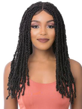 Its A Wig Premium Synthetic Lace Front Wig - ST WATER WAVE TWIST 24