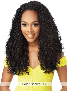 Outre Converti Cap Wet and Wavy Premium Synthetic Full Wig - WATERFALL IN LOVE