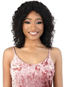Motown Tress Persian Remy Human Hair Wet & Wavy HD Lace Front Wig - HPLFP.WET3